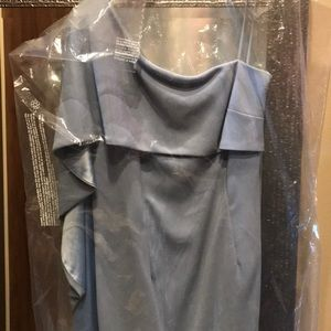 Carmen Marc Valvo Dresses - Brand new Carmen Marc Volvo Asymmetrical Dress